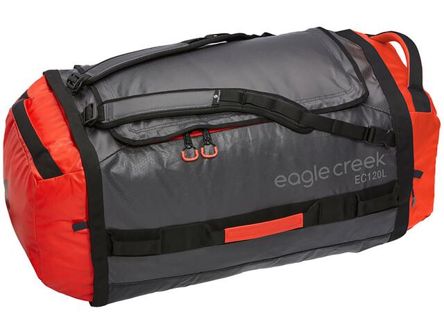 Eagle Creek Cargo Hauler Duffelilaukku 120L, flame/asphalt